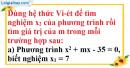 Bài 40 trang 57 SBT toán 9 tập 2