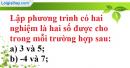 Bài 42 trang 58 SBT toán 9 tập 2