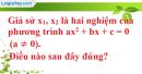 Bài 6.1, 6.2, 6.3, 6.4 trang 58, 59 SBT toán 9 tập 2