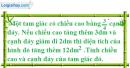 Bài 16 trang 195 SBT toán 9 tập 2