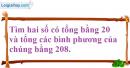 Bài 18 trang 195 SBT toán 9 tập 2