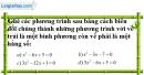 Bài 18 trang 52 SBT toán 9 tập 2