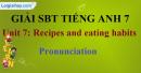 Phonetics - trang 3 - Unit 7 - Sách bài tập (SBT) tiếng Anh 9 mới