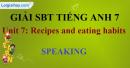 Speaking - trang 7 - Unit 7 - Sách bài tập (SBT) tiếng Anh 9 mới