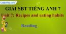Reading - trang 8 - Unit 7 - Sách bài tập (SBT) tiếng Anh 9 mới