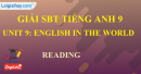 Reading - Unit 9 - SBT tiếng Anh 9 mới