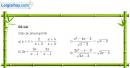Bài 4 trang 57 SGK Đại số 10