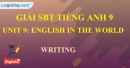 Writing - Unit 9 - SBT  tiếng Anh 9 mới