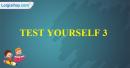 Test Yourself 3 - Kiểm tra cá nhân 3 - trang 28