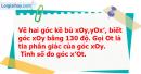 Bài 28 trang 111 Vở bài tập toán 6 tập 2