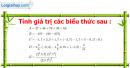 Bài 1 trang 126 Vở bài tập toán 6 tập 2