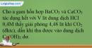 Bài 26.13; 26.14 trang 59 SBT Hóa học 12