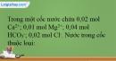 Bài 26.15, 26.16 trang 60 SBT Hóa học 12