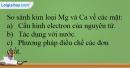 Bài 26.18 trang 60 SBT Hóa học 12