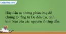 Bài 26.19 trang 60 SBT Hóa học 12