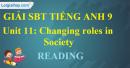 Reading - trang 45 - Unit 11 - SBT  tiếng Anh 9 mới