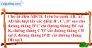 Bài 2.49 trang 83 SBT hình học 11