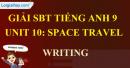 Writing - Unit 10 - SBT  tiếng Anh 9 mới