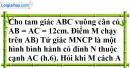 Bài 63 trang 62 SBT toán 9 tập 2