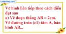 Bài 8.1, 8.2, 8.3 phần bài tập bổ sung trang 94, 95 SBT toán 6 tập 2