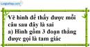 Bài 9.1, 9.2, 9.3 phần bài tập bổ sung trang 96, 97 SBT toán 6 tập 2