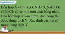 Bài 26.26 trang 61 SBT Hóa học 12