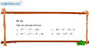 Bài 2 trang 84 SGK Giải tích 12