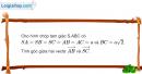 Bài 3.10 trang 138 SBT hình học 11