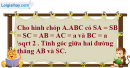 Bài 3.11 trang 139 SBT hình học 11