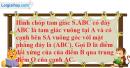 Bài 3.19 trang 145 SBT hình học 11