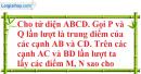 Bài 3.3 trang 129 SBT hình học 11