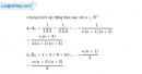 Bài 3.38 trang 132 SBT đại số và giải tích 11