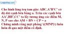 Bài 3.4 trang 130 SBT hình học 11