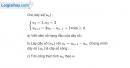 Bài 3.40 trang 133 SBT đại số và giải tích 11