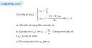 Bài 3.41 trang 133 SBT đại số và giải tích 11