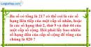 Bài 3.42 trang 133 SBT đại số và giải tích 11
