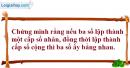 Bài 3.44 trang 133 SBT đại số và giải tích 11