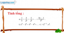 Bài 3.47 trang 134 SBT đại số và giải tích 11