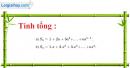 Bài 3.48 trang 134 SBT đại số và giải tích 11