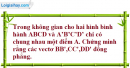 Bài 3.5 trang 130 SBT hình học 11