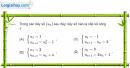 Bài 3.53 trang 134 SBT đại số và giải tích 11