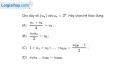 Bài 3.56 trang 135 SBT đại số và giải tích 11