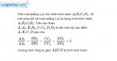 Bài 3.6 trang 130 SBT hình học 11