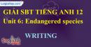 Writing - trang 11 Unit 6 SBT Tiếng anh 12 mới