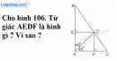 Bài 81 trang 108 SGK Toán 8 tập 1