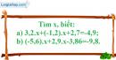 Bài 93 trang 45 SGK Toán 7 tập 1