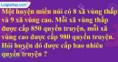 Tiết 49  Bài 3, bài 4 trang 57 sgk Toán 4