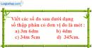Bài 1 trang 48 sgk Toán 5