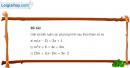 Bài 2 trang 62 SGK Đại số 10
