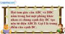Bài 3.20 trang 145 SBT hình học 11